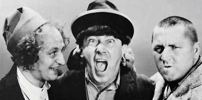 Three Stooges inspire laughter