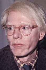Artist Andy Warhol